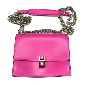 Fendi Kan Leather Small Bag